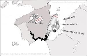 asiestamos, asiestamos* marianico el REcorto y etiquetada crítica, crisis, derecho de admisión, exclusión, fronteras, marianico, masaltoqueelsilencio, opinión, politica, racismo, Rajoy, recortes, viñetas.