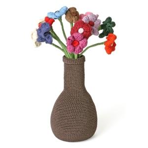 florero algodon